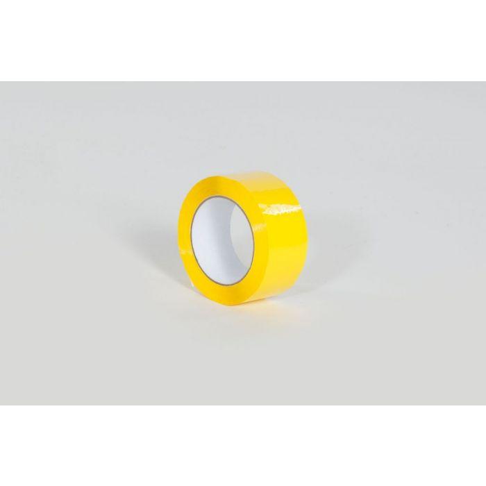 """2"""" x 110 yds. 1.9 Mil Yellow Carton Sealing Tape (36/Case)"""