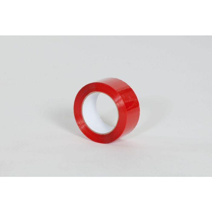 """2"""" x 110 yds. 1.9 Mil Red Carton Sealing Tape (36/Case)"""