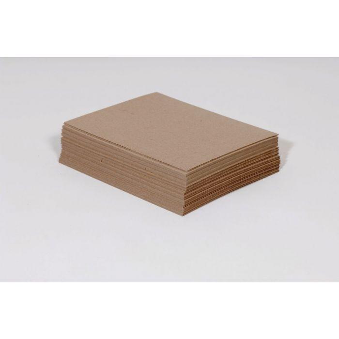 """8 1/2 x 11"""" Heavy Duty 30 pt. Chipboard Pad (750/case)"""
