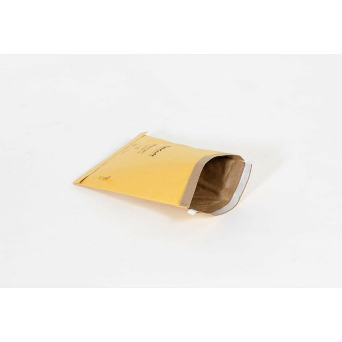"#4 - 9 1/2 x 14 1/2"" Kraft Peel-Seal Padded Mailer (100/Case)"