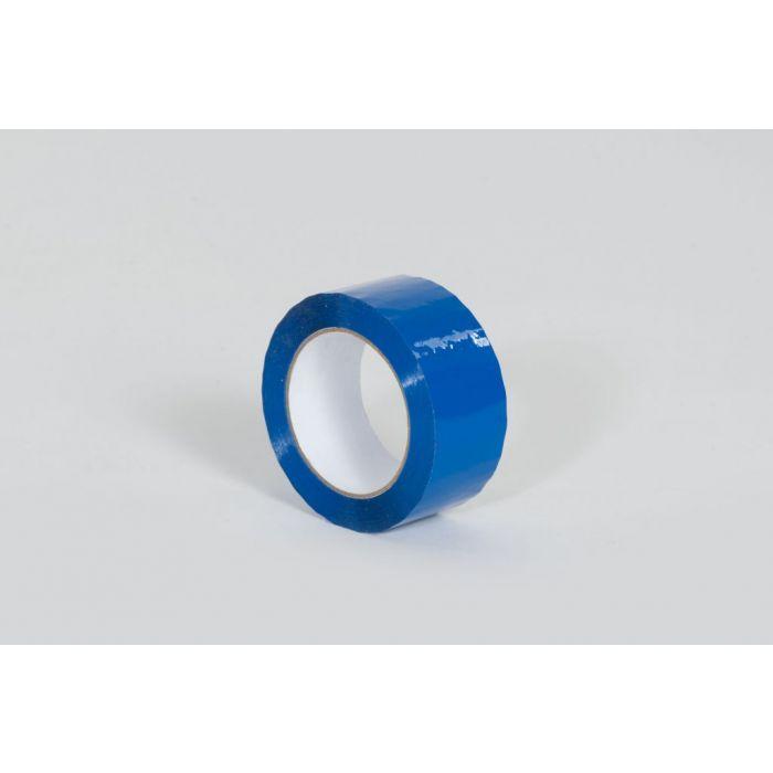 """2"""" x 110 yds. 1.9 Mil Blue Carton Sealing Tape (36/Case)"""