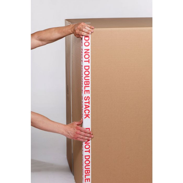 2 x 2 x 36 .160 Do Not Double Stack Printed Edge Protector (2240/Skid)