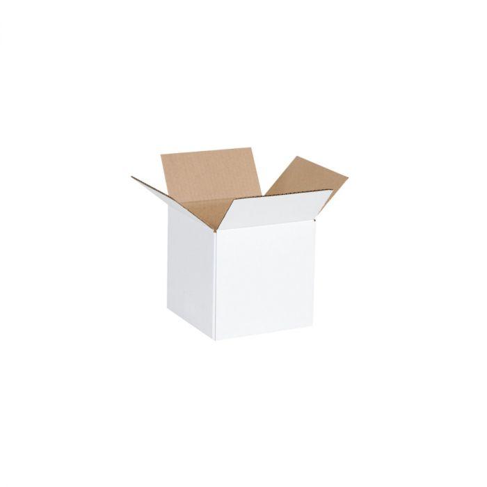 """6 x 6 x 6"""" White Boxes"""