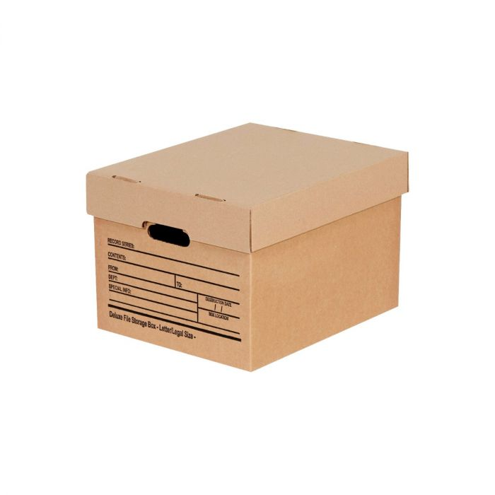 Economy File Storage Boxes with Lid
