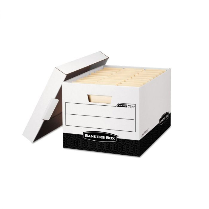 File Storage Bankers Boxes with Lid