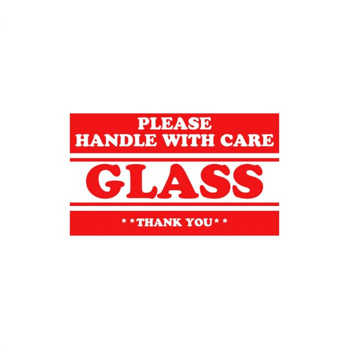 Glass Labels