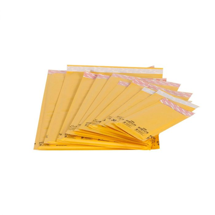 Gold Paper Bubble Mailers