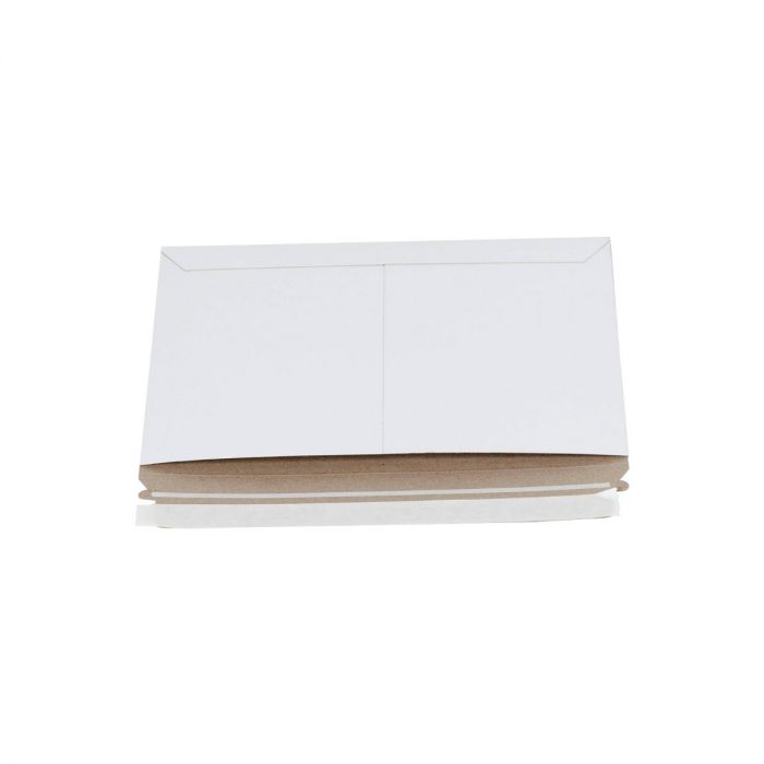 White Side-Loading Stayflats Mailers