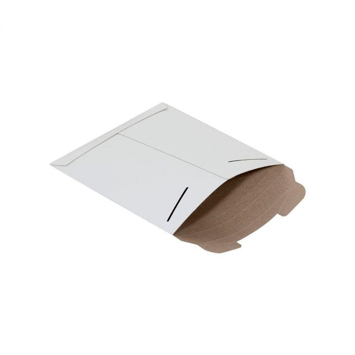 White Tab-Locking Stayflats Mailers
