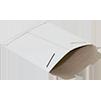 White Flat Tab Locking Envelope